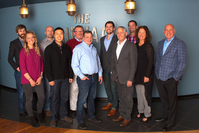 The Mediopolis team: From left to right Ben Clarke, Chief Strategist, President, The Shipyard ; Sara Landries, Broadcast Buyer; Joel Acheson, Director of Organic Strategy & Web Analytics; Dr. Cheng Chen, Data Science Developer ; Rob Simmons, CFO; Ross Capers, Media Director; Dan Sorenson, Paid Media Analysis; Jon Bond, Co-Chairman; Jared McKinley, Director of Paid Media; Pattie Glod, President, Mediopolis; Rick Milenthal, Co-Chairman