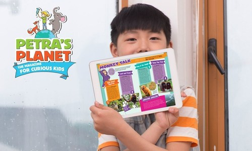 Petra's Planet magazine to launch in China (PRNewsFoto/Dramaforum and 24Reader)
