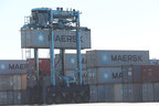 MICHELIN(R) X-STRADDLE 2 carrier tire keeps the global economy moving at ports (PRNewsFoto/MICHELIN(R) Earthmover)