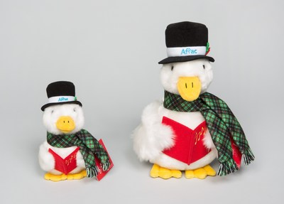 Aflac's 2016 Holiday Duck goes on sale today at Aflacduckprints.com and at participating Macy's stores. All the net proceeds go to the fight against childhood cancer.
