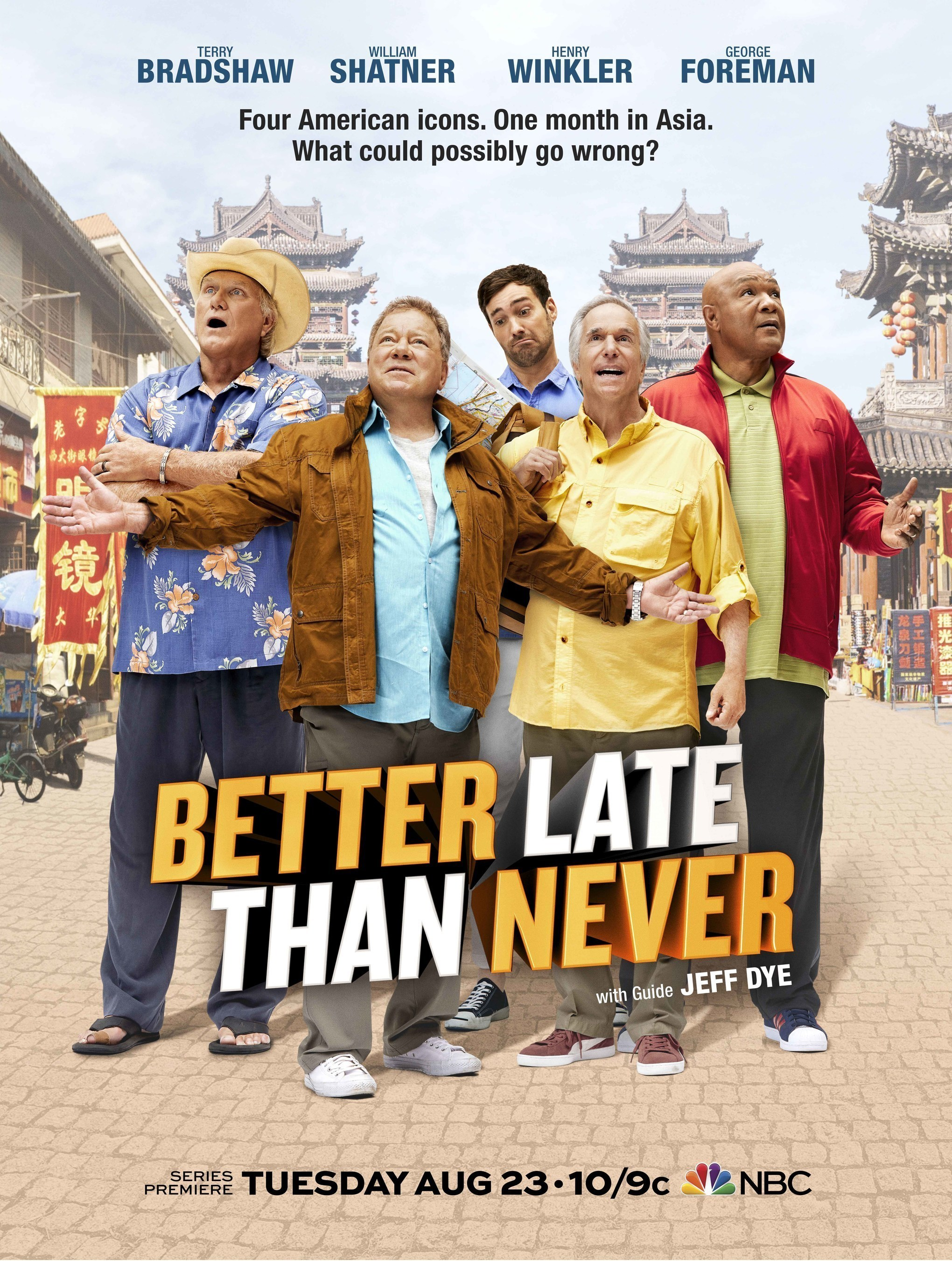 Hong Kong To Star In New NBC TV Show 'Better Late Than Never'