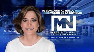 """MEGATV ESTRENA """"MEGA NOTICIERO"""" CON MARÍA ELVIRA SALAZAR creditos: Jose Naranjo/Imagen"""
