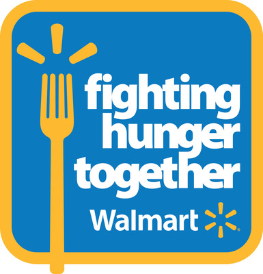 Fighting Hunger Together.  (PRNewsFoto/Walmart)