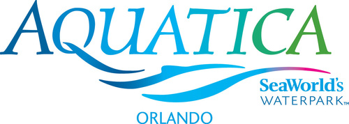 Aquatica, SeaWorld's Waterpark Logo. (PRNewsFoto/Aquatica, SeaWorld's Waterpark)