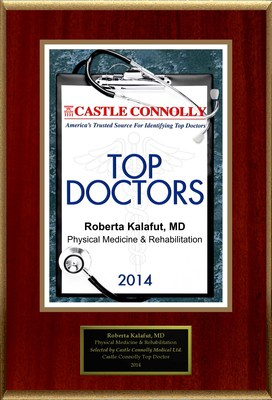 Dr. Roberta Kalafut is recognized among Castle Connolly's Top Doctors(R) for Abilene, TX region in 2014. (PRNewsFoto/American Registry)