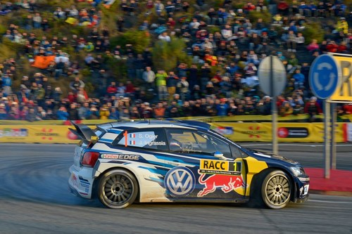 Sebastien Ogier/Julien Ingrassia (F/F), Volkswagen Polo R WRC, 2016 Rally Spain (PRNewsFoto/Volkswagen Motorsport GmbH)