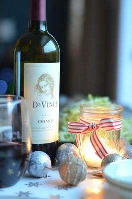 Bring DaVinci Chianti home for the holidays. (PRNewsFoto/DaVinci Wine)