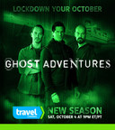 New Season of Travel Channel's GHOST ADVENTURES begins Sat, Oct. 4 at 9pm ET/PT (PRNewsFoto/Travel Channel)