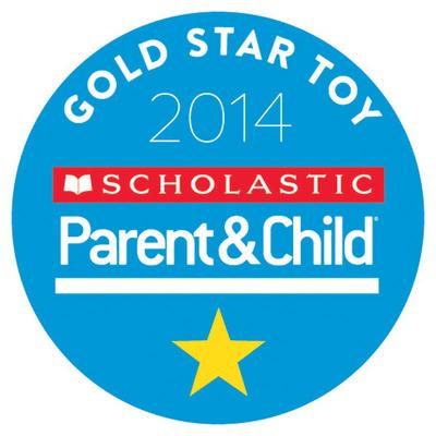 Scholastic Parent & Child Magazine Announces Winners of 2014 Gold Star Toy Awards.  (PRNewsFoto/Scholastic Parent & Child)