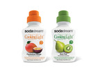 Initial flavors will be Passionfruit-Mango and Kiwi-Pear. (PRNewsFoto/SodaStream)