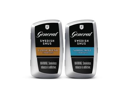 General Snus Debuts New Metal Can. (PRNewsFoto/Swedish Match) (PRNewsFoto/SWEDISH MATCH)