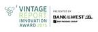 2015 Vintage Report Innovation Award