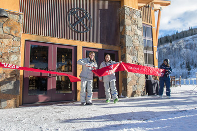 Park City COO Bill Rock Assists in Miners Camp Ribbon Cutting