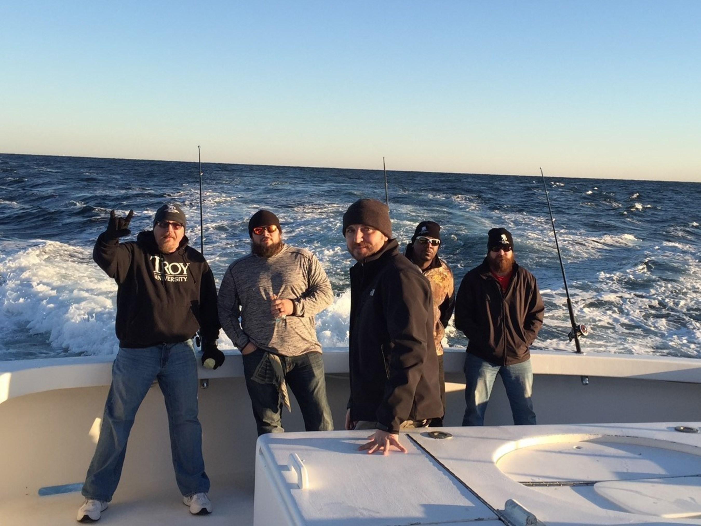 The three-day deep sea fishing trip was offered through the WWP Alumni program.