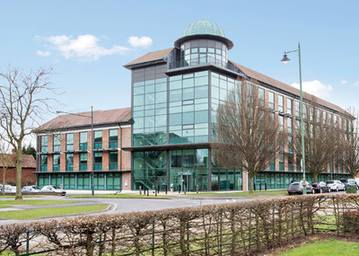 The Nexus Building in Letchworth Garden City where TYKMA Electrox will set up their new UK European Sales Support Center.