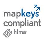 Cymetrix earns Healthcare Financial Management Association's (HFMA) MAP Keys Compliant designation, recognizing its ability to capture MAP Keys performance metrics.  (PRNewsFoto/Cymetrix)
