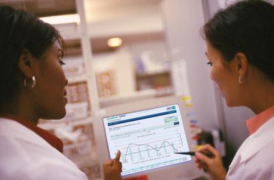 DebMed GMS(TM) Monitoring System, Hand Hygiene Compliance Reports (PRNewsFoto/DebMed)