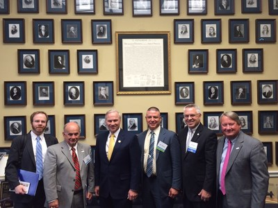 American Waterways Operators discuss U.S. jobs, vessel discharges and national security with members of Congress during annual Barge-In.