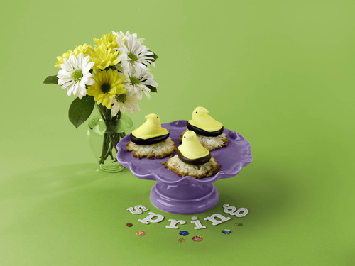 Think Spring with Sweet PEEPS® Macaroons