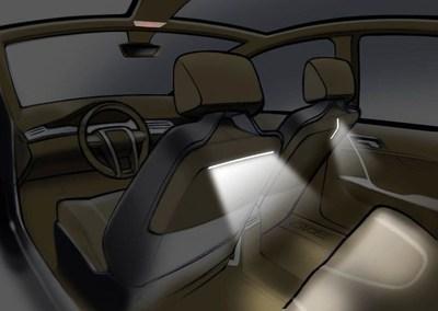 HELLA Rear Seat Lighting Concept