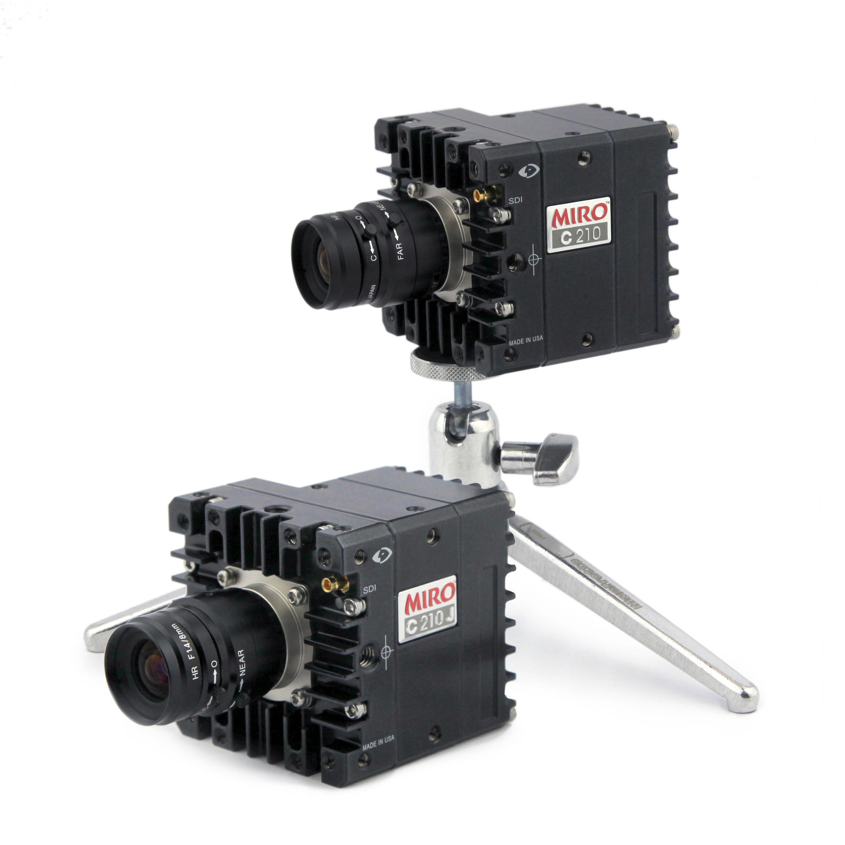 Vision Research lance les nouvelles caméras rapides robustes Phantom® Miro® série C