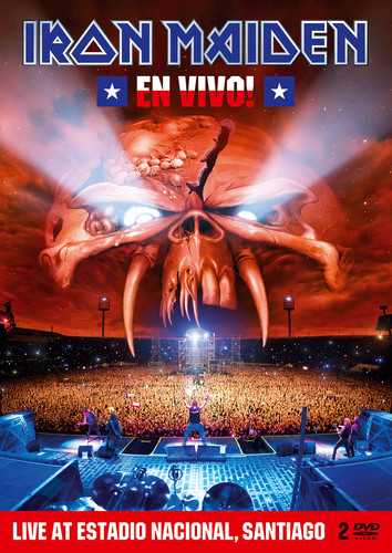 Universal Music Enterprises New Iron Maiden Release EN VIVO! Tuesday, March 27, 2012.  (PRNewsFoto/Universal ...