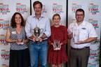 (L-R): Angela Rowley of Blackbird Foods, Houston; Matthew Lee of TEO Gelato, Austin; Karen Morgan of Blackbird Bakery, Austin; and Chad Wilson of The Slaton Bakery, Slaton, TX