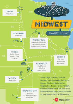 Local picks for the delicious stops you must make as you traverse the Midwest this summer.