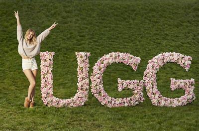Rosie Huntington-Whiteley at Daylesford Organic Farm as UGG(R) brand's first global women's ambassador