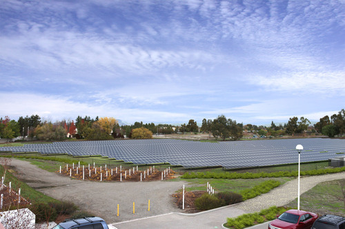 The City of Livermore will launch a bold plan to install solar and dramatically reduce citywide energy costs, saving taxpayers more than $10 million over the next 25 years.  (PRNewsFoto/Chevron Energy Solutions)