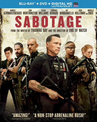 From Universal Studios Home Entertainment: Sabotage