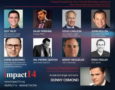 Internet Marketing Association IMPACT14 Conference (PRNewsFoto/Internet Marketing Association)