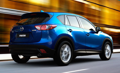 Mazda'(TM)s newest vehicle offers the best fuel-economy of any SUV and outranks the Honda CR-V in several categories.  (PRNewsFoto/Bill Jacobs Mazda)