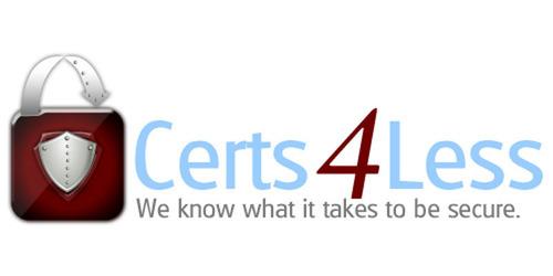 Certs 4 Less.  (PRNewsFoto/Certs 4 Less)