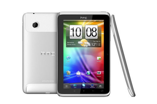 HTC Unveils HTC Flyer, the First Tablet with HTC Sense.  (PRNewsFoto/HTC Corporation)