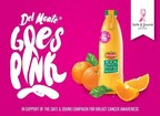 Del Monte Goes Pink in Support of Safe & Sound 2015