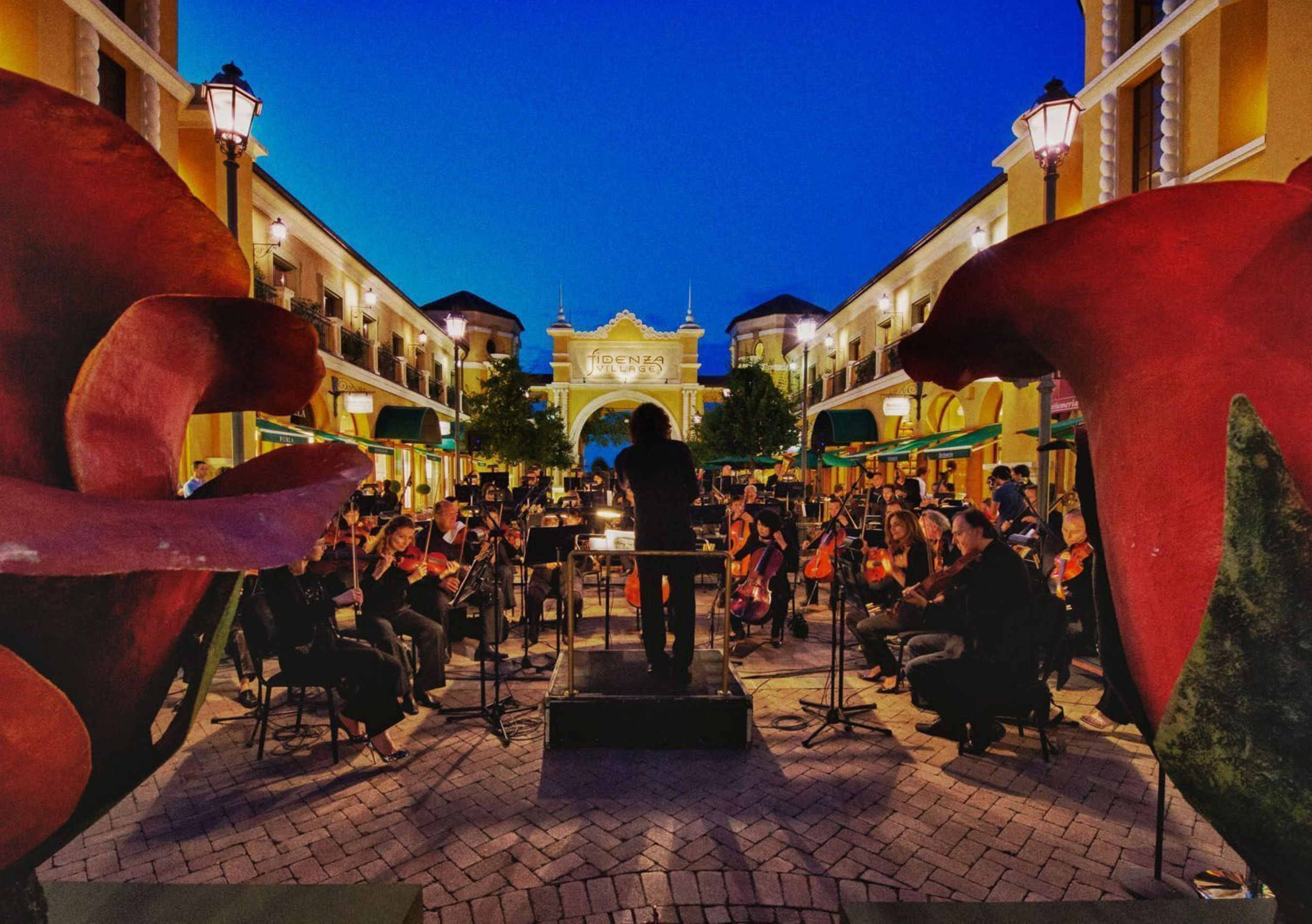 Fidenza Village Becomes 'The Embassy of Made in Italy' for EXPO Milano 2015 (PRNewsFoto/Fidenza Village)