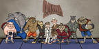 First episode of MMA animals cartoon series in pre-production