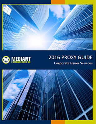 2016 Proxy Guide