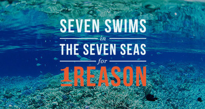 Lewis Pugh unveils his Seven Swims in Seven Seas for one Reason campaign (PRNewsFoto/Khaled bin Sultan Living Oceans)