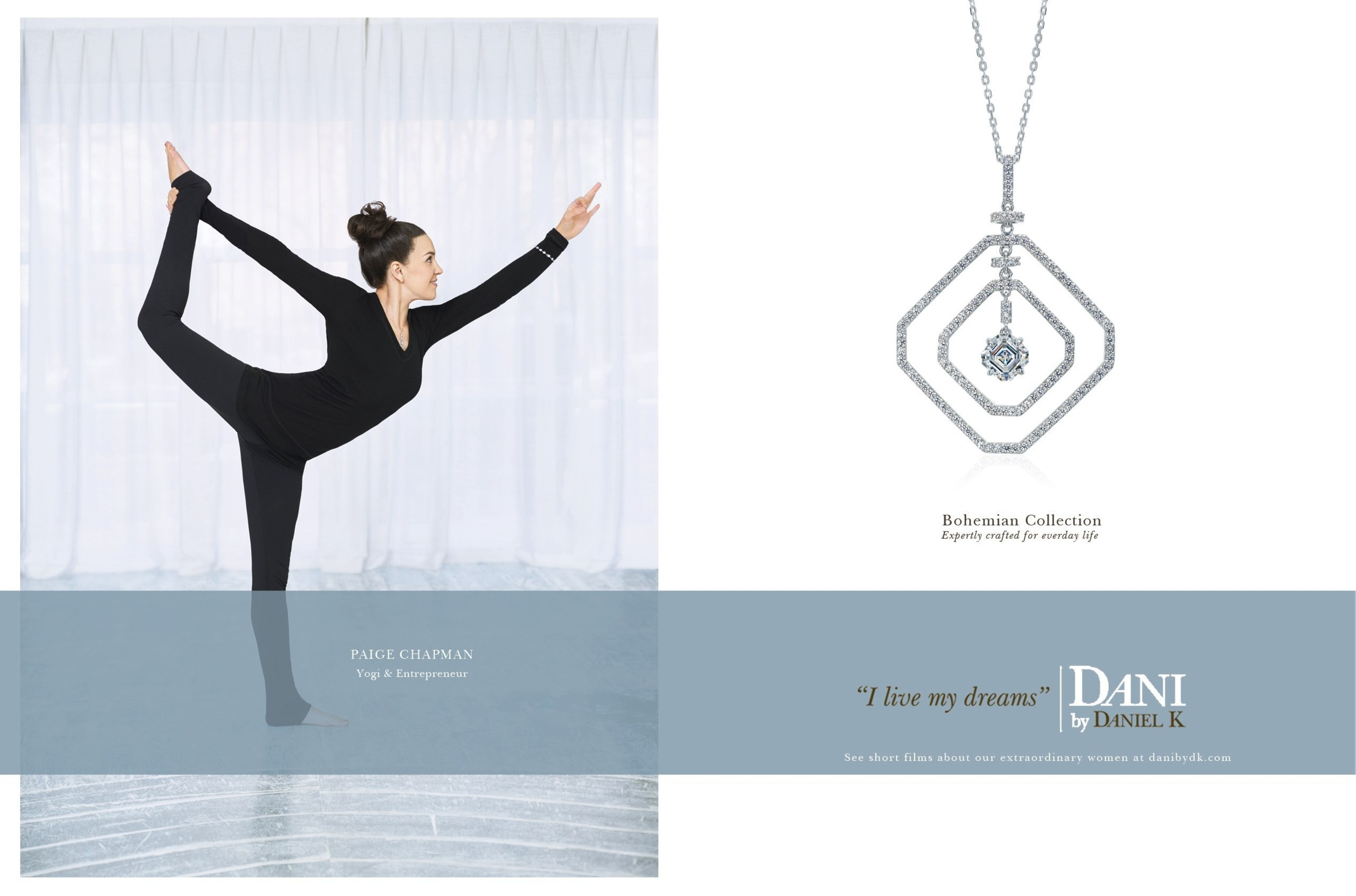 DANI by Daniel K startet auf der Baselworld 2015 eine Multimedia-Reality-Kampagne