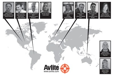 Avlite Systems World Map