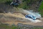 Subaru Driver David Higgins win 2015 Oregon Trail Rally, extending his Rally America Championship lead.
