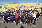 Jack Beckman drives Infinite Hero 2015 Dodge Charger R/T to win at Mopar Mile-High NHRA Nationals.