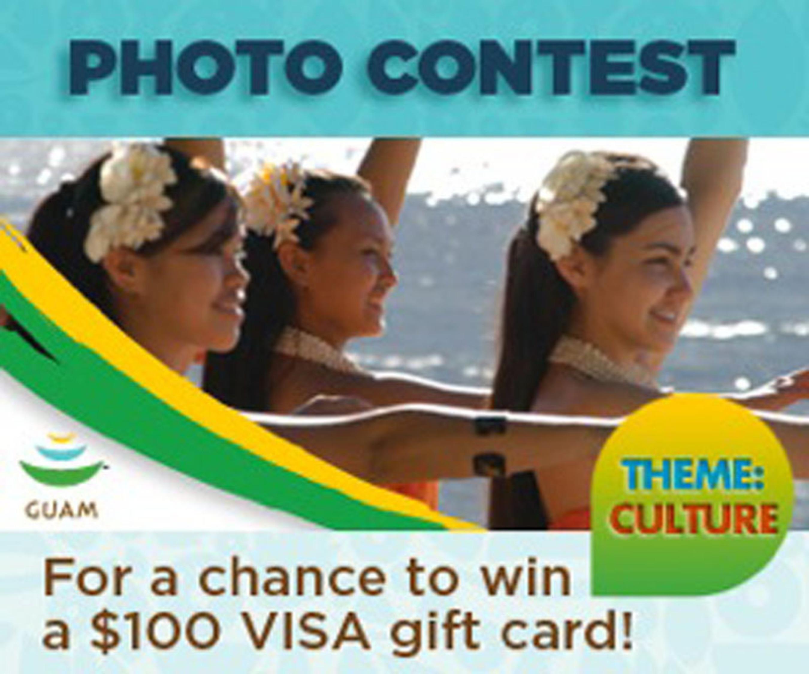 Photo Contest Promo.  (PRNewsFoto/The Guam Visitors Bureau)