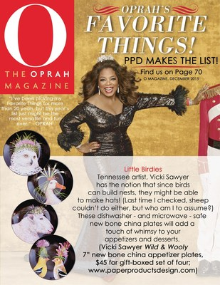 Oprah's Favorite Things: Paperproducts Design (PPD) Makes the List!