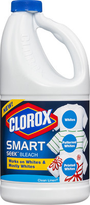 New Clorox Bleach Product for Whites and More Puts a Colorful Spin on a Classic (PRNewsFoto/The Clorox Company)