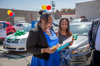 Service King's Great American Recycled Rides Giveaway presented vehicles to needy families in 15 cities across the country this weekend.