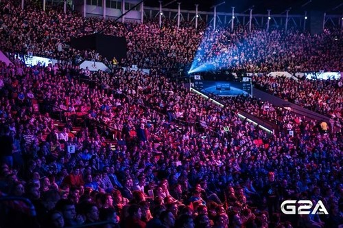 G2A is now in Katowice for Intel Extreme Masters (IEM) Finals 2016 (PRNewsFoto/G2A.com) (PRNewsFoto/G2A.com)