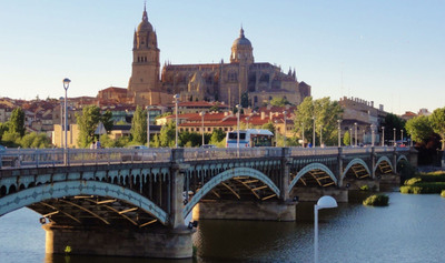 Magellan Study Abroad participants love Salamanca for its amazing and safe setting.    (PRNewsFoto/Magellan Study Abroad)